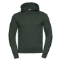 Authentic Hooded Sweat, Bottle Green, S, RUS