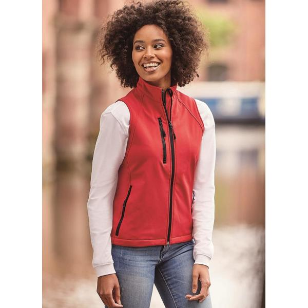Ladies Softshell Gilet