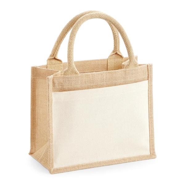 Pocket Jute Gift Bag