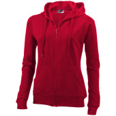 Utah full-zip dames sweater met capuchon
