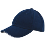 Duo Colour Sandwich Cap Marineblauw acc. Marineblauw