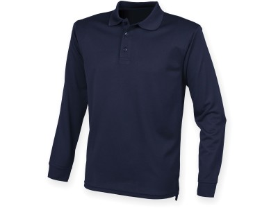 Men's coolplus® long sleeved polo shirt