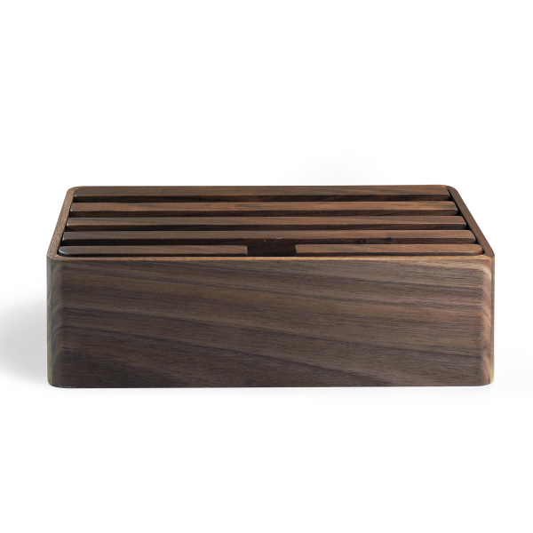 WOODBOX - houten laadstation