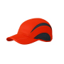 5 Panel Sports Cap grenadine