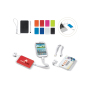 Powerbank 3 in 1 3000mAh wit / rood