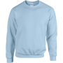 Heavy blend™ adult crewneck sweatshirt light blue xl