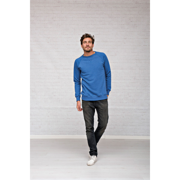 L&S Melange sweater for him