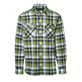 Green Leaf shirt | press studs