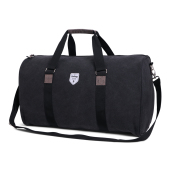 Vintage Canvas Weekendbag Black