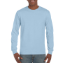 Gildan T-shirt Ultra Cotton LS light blue M