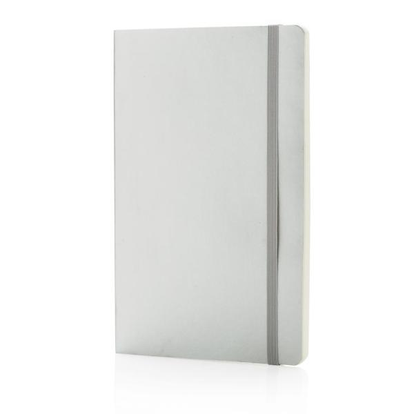 Deluxe metallic softcover notitieboek