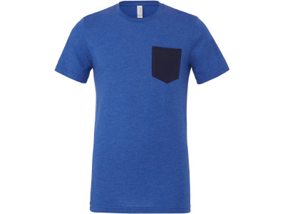 Men's jersey short sleeve pocket tee