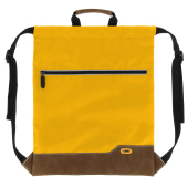 Drawstring Backpack BO yellow