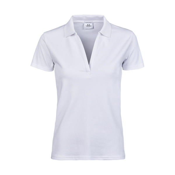 Women's Luxury Stretch V Polo