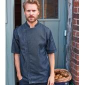 Short Sleeve Zipped Chef's Jacket