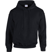 Heavy blend™ classic fit adult hooded sweatshirt black 4xl
